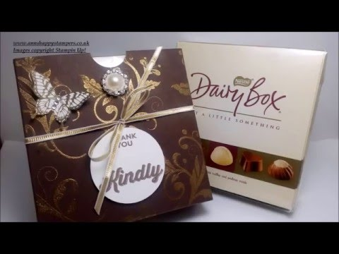Beautiful Chocolate Box Cover For April S Thank You Gifts Youtube