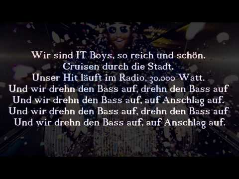 It Boys - MC Fitti (feat. Felix Brummer) - Lyrics/Instrumental (HD)