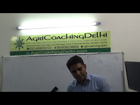 IAS IFoS Agriculture Optional Free Class E   8