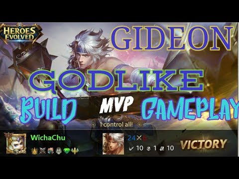 GIDEON HEROES EVOLVED Build, Guide and Gameplay