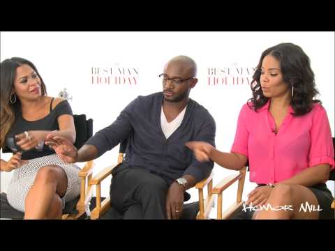 Thumbnail: Nia Long, Taye Diggs, Sanaa Lathan Discuss Edited Dance Scene In 'Best Man Holiday'