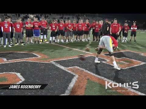 James Rosenberry | No.7 Ranked Long Snapper | Class of 2018