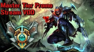 Master Promo | Full Zed Game - League of Legends
