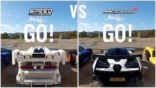 How OP are the LEGO Cars? Forza Horizon 4 LEGO Senna vs. Real Senna