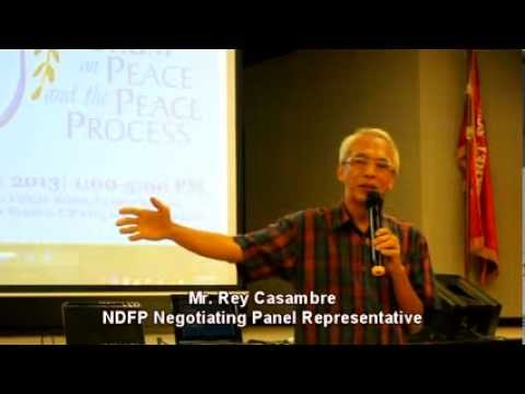 GPH and NDFP on the issue of Precondition and Compliance