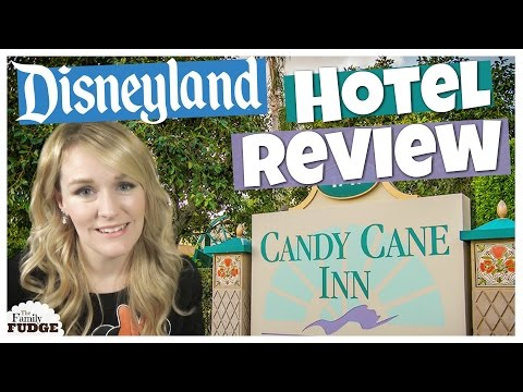 The Candy Cane Inn || Budget Hotel Near Disneyland || Room Tour & Review