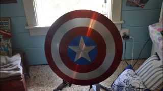 Aluminum Captain America Shield Project