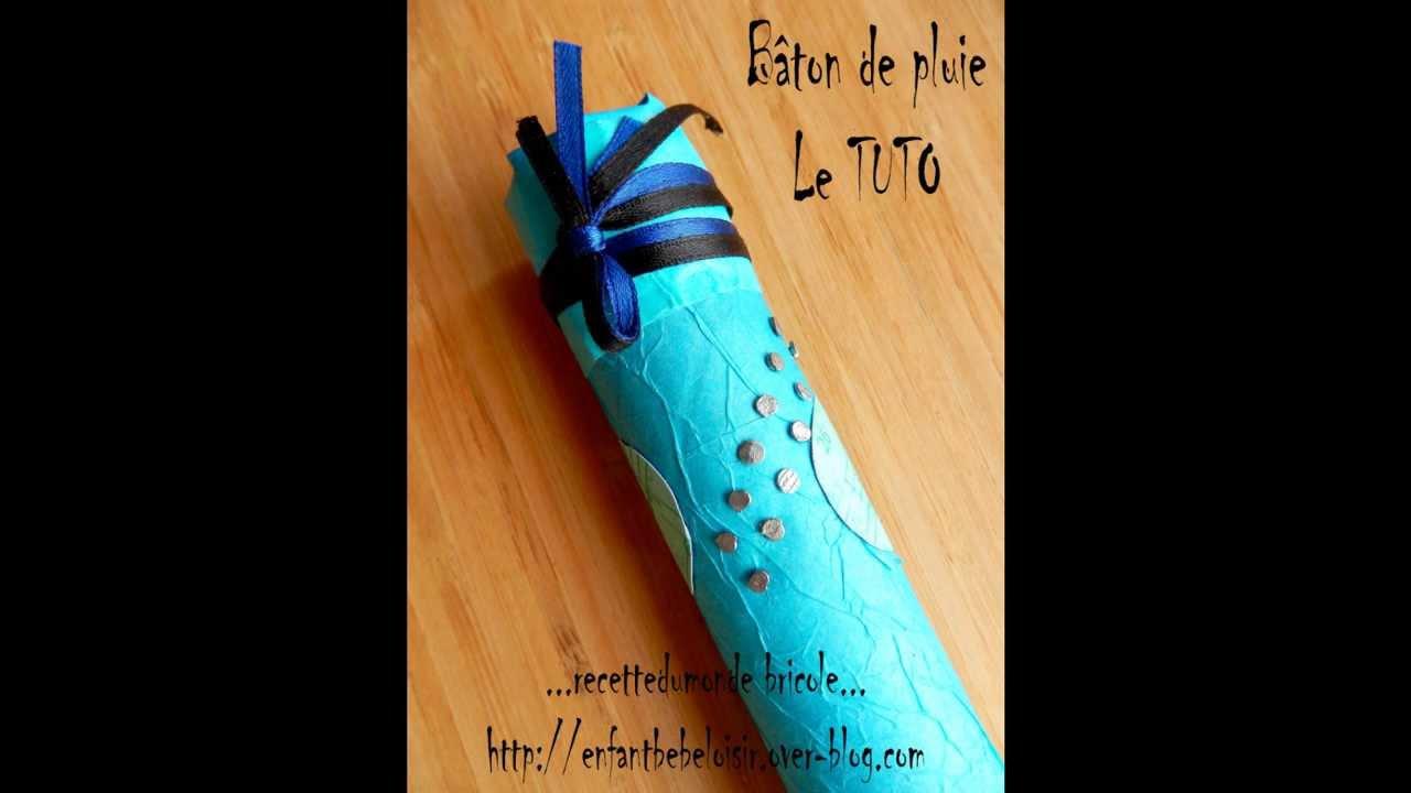 Fabriquer un b ton de pluie r cup 39 et recyclage youtube for Decoration baton de pluie
