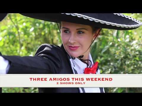 Behind the scenes of Three Amigos