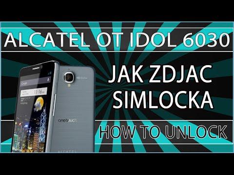 Jak zdjąć simlocka z Alcatel OT 6030X