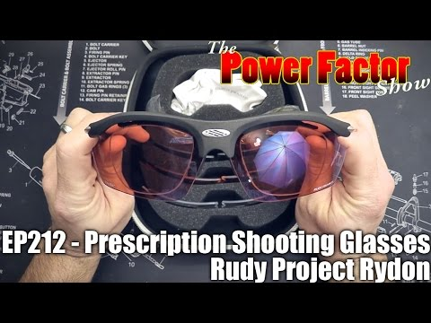 Episode 212 - Prescription Shooting Glasses - Rudy Project Rydons