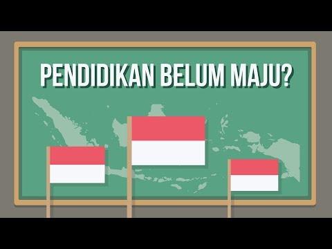 Kenapa Pendidikan Indonesia Belum Maju?