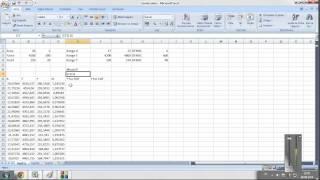 monte carlo metodu ve excel ile pdf cdf grafik cizimi 1