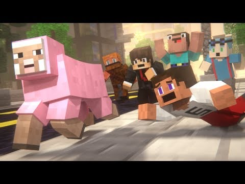PINK SHEEP (Minecraft Animation Collab)