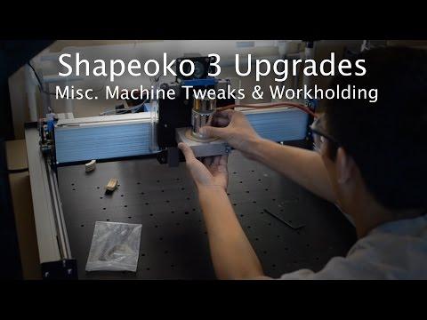 Shapeoko 3 XL Threaded Insert Installation - Winston Moy