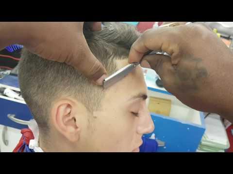 Hc barber Shop como hacer patillas en punta y cuadrada perfectamente bien