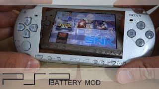 PSP 2000 & 3000 Battery MOD