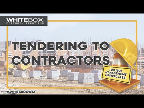 How to Tender for Contracts on a development project