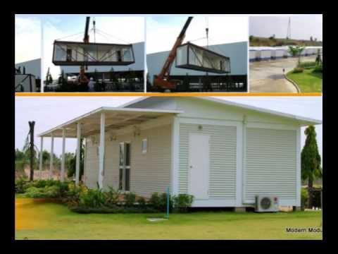Modular homes by Modern Modular.,Co.Ltd. - YouTube
