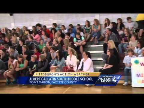 School Visit: Albert Gallatin South Middle School