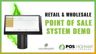 Ncr counterpoint is the most powerful, flexible, and customizable point of sale system on market. we help retailers from apparel store to zoos, every...