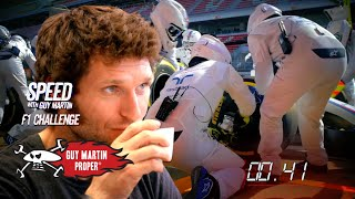The Art of the F1 Pitstop | Guy Martin Proper