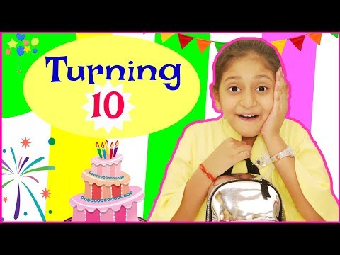 Turning 10 - How I Celebrated My Birthday | #Special #DIML #MyMissAnand