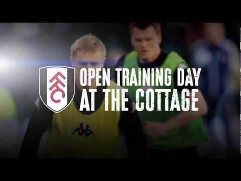 Fulham FC Open Training Day