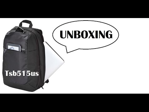 Unboxing Mochila Targus Ultralight Tsb515us Português. - YouTube e8466ce8dacca