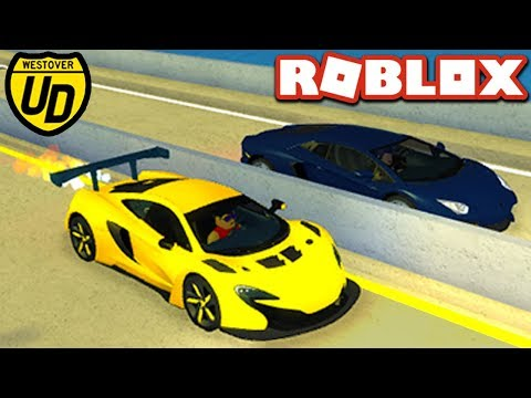 STREET RACES in Ultimate Driving Simulator!! - Roblox