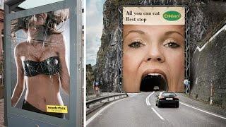 Most Creative Advertisement Ideas ever
