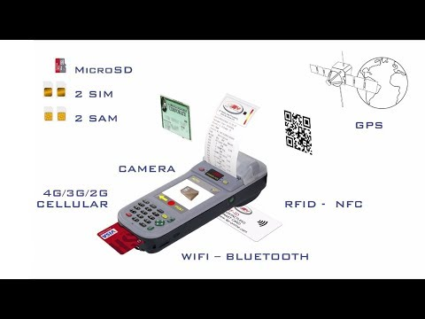FDA600 ALL IN ONE multifunction Printer PDA