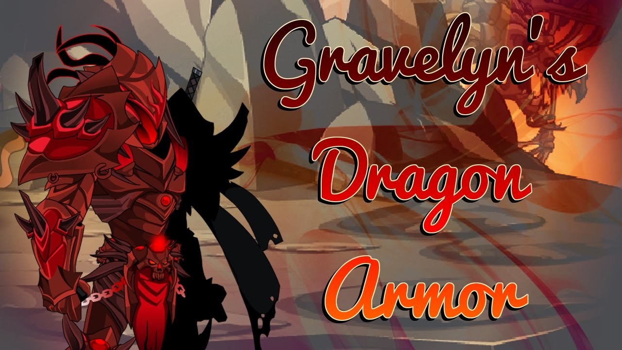 Aqw  Must Have Free Acs SetDragon Gravelyn Armor