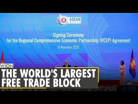 Asia forms world's biggest trade bloc | A China-backed group excluding US | World News | WION News