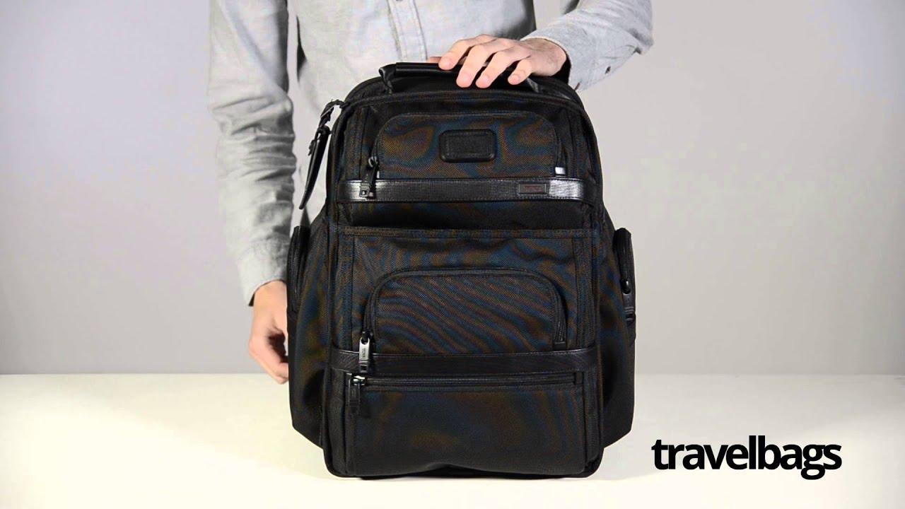d4922d271 Tumi Alpha 2 T-Pass Business Class Brief Pack - YouTube