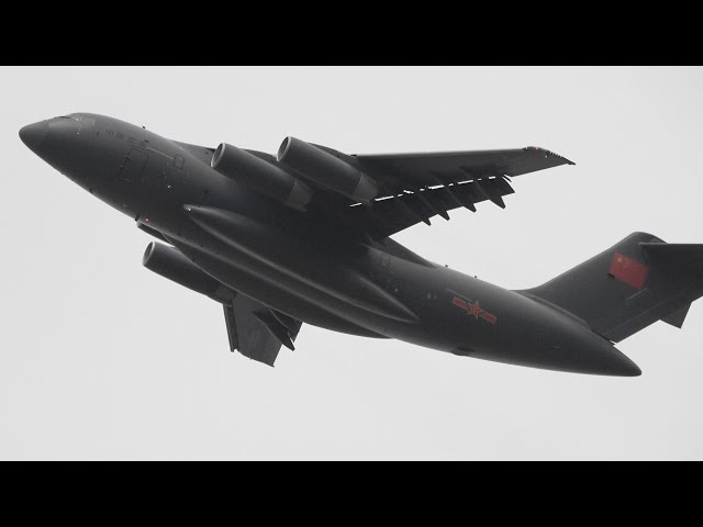 World's Largest Military Aircraft Conducts First Mission With