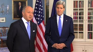 French Foreign Minister Visits Chicago and Washington