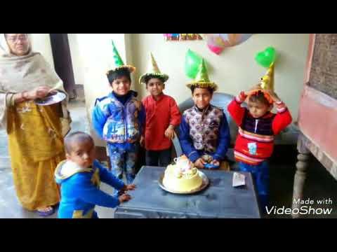 Celebration of birthday my Son Shivang Parasher (Om)
