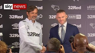 Wayne Rooney joins Derby County as player-coach