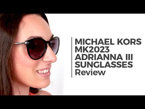 Michael Kors MK2023 ADRIANNA III Sunglasses Review