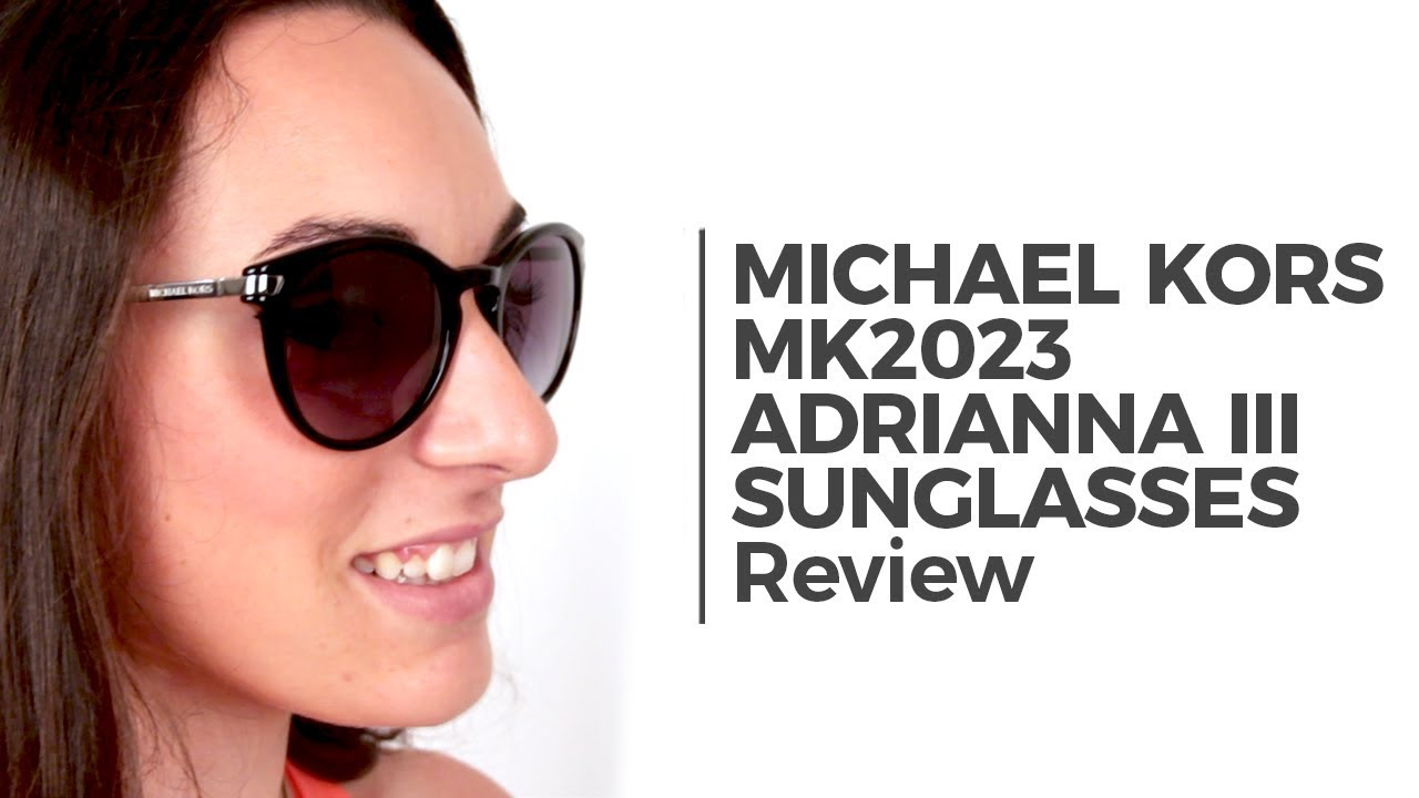 Michael Kors MK2023 ADRIANNA III Sunglasses Review | SmartBuyGlasses