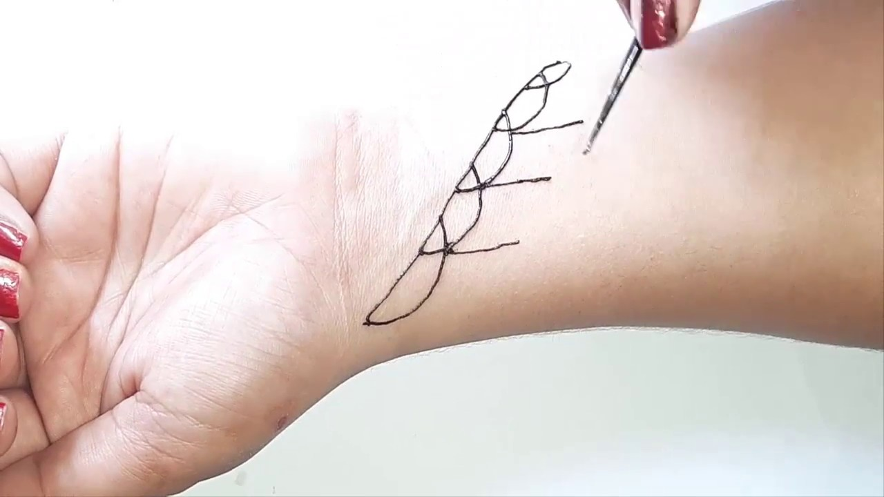 New Stylish Mehndi Tattoo Mehndi Design For Hands Henna