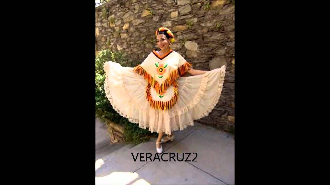 8cc025380 TRAJES FOLKLORICOS DE MEXICO - YouTube