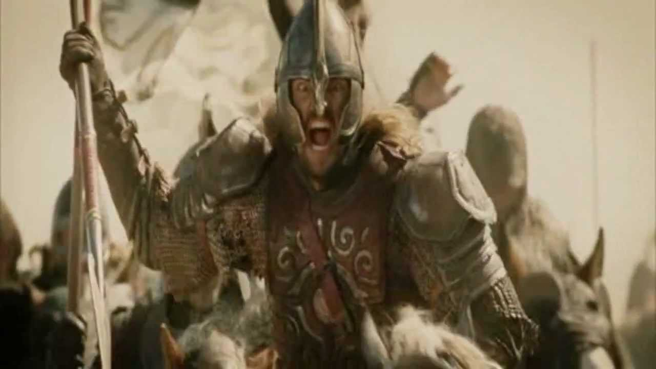 Lord of the Rings - Rohirrim Charge - Mixed with epic audio from ...