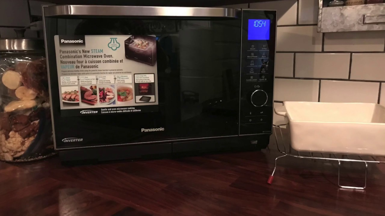 panasonic combination microwave steam oven review
