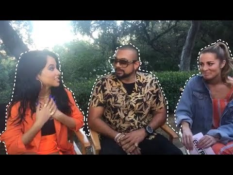 Live from the secret set of Sean Paul & Becky G's video for #MadLove! (Interview)