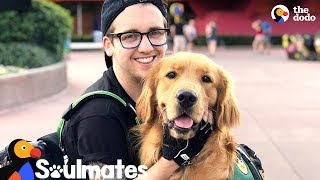 Dog Helps His Dad Feel At Home Through His Transition | The Dodo Soulmates