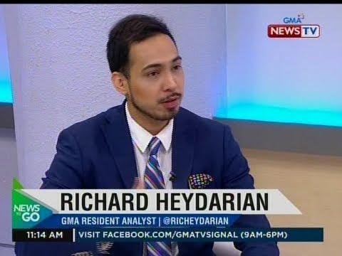 NTG: Panayam kay Richard Heydarian, GMA Resident Analyst