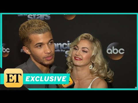 How DWTS Champ Jordan Fisher's Girlfriend Ellie Woods Supported Him from 2000 Miles Away