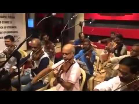 Making Of Bhahubali background music Leaked Video